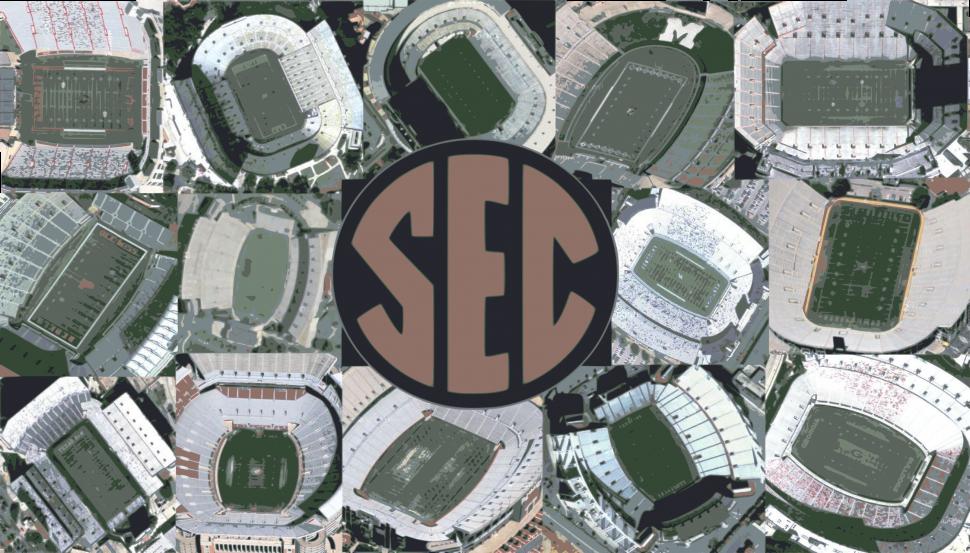 SEC Football Stadiums