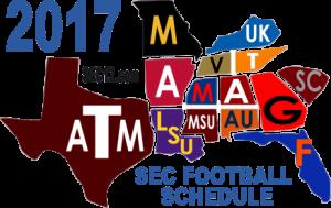 2017 SEC Football Schedule