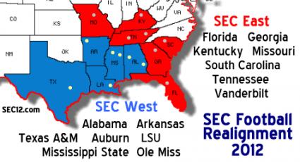 SEC Divisional Realignment