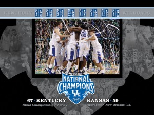 Kentucky National Champions Wallpaper