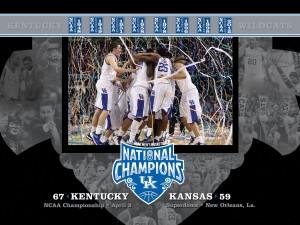 Kentucky National Champions Wallpaper