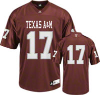 Texas A&M Football Jerseys