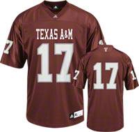 Texas A&M Football Jerseys